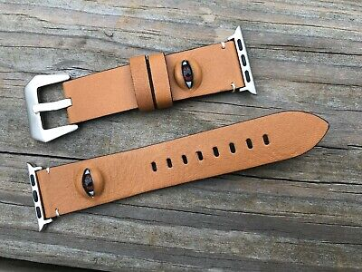 $ CDN26.64 • Buy Replacement Band For Apple Watch Series 1/2/3/4 Brown Band Eye Strap Size 38mm