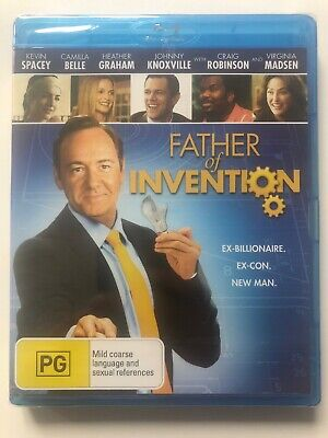 AU4.75 • Buy Father Of Invention - Kevin Spacey (Blu-ray) Australia Region B- NEW & SEALED
