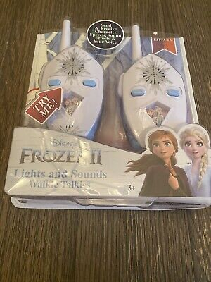 $ CDN30.31 • Buy Frozen 2 Walkie Talkies For Kids, 2 Way Radio Long Range With Flashing Lights...