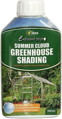 Vitax Greenhouse Shading Glass Paint Protects Plants From Summer Sun Cloud 500ml • 9.95£