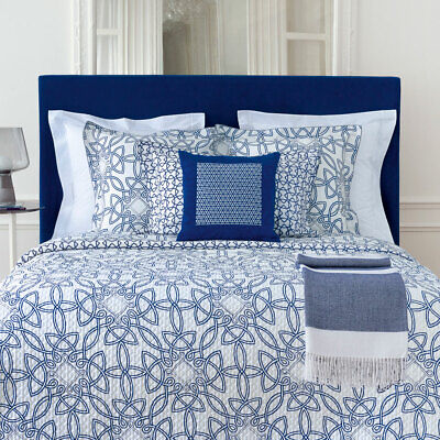 Yves Delorme | Entrelacs Duvet Cover 300tc Egyptian Cotton 60% Off Rrp • 140.04£