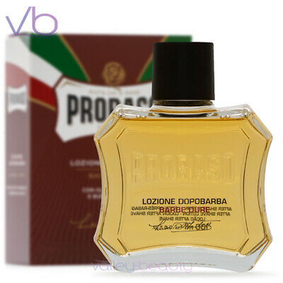 $14.50 • Buy PRORASO Red After Shave Lotion, Sandalwood And Shea Butter, 100ml NEW
