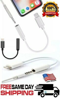 $3.30 • Buy 3.5mm Aux Adapter Earphone Headphone For IPhone 7 8 PLUS X Audio Jack Cable USB