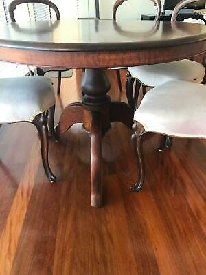 AU600 • Buy Antique Victorian Table And Chairs