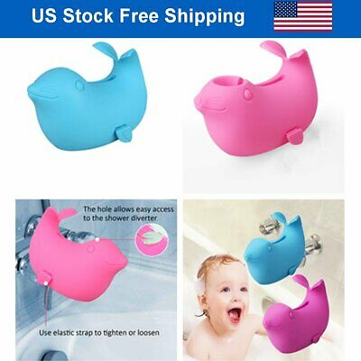 $8.86 • Buy Sea Lions Bath Spout Cover Baby Bath Tub Faucet Silicone Safe Extender Protector