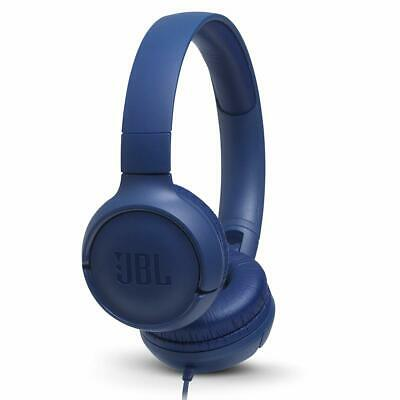 $ CDN35.72 • Buy JBL TUNE500 Wired On-Ear Headphones With One-Button Remote And Mic - BLUE ™