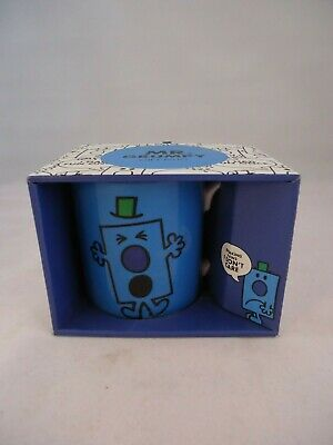 Bell & Curfew Mr Grumpy Coffee Mug Mr Men Series Ceramic Boxed 2017 • 13.99£