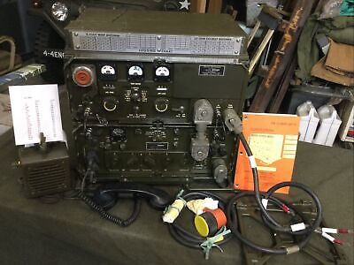 $1400 • Buy Fully Serviced GRC-106 + ACCY's MILITARY RADIO TRANSCEIVER Rt-662 Am3349 On Air