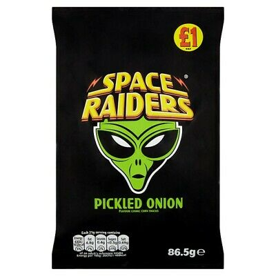 Space Raiders Pickled Onion Case Of 16 • 16.99£