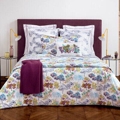 Yves Delorme | Paysage Duvet Cover 200tc Egyptian Cotton Percale 60% Off Rrp • 82.44£