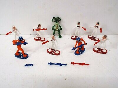 £39.99 • Buy Britains X9 Space Figures Aliens And Force Scouts Excellent Very Clean (bs2885)