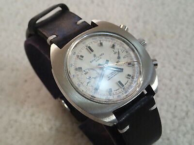 $ CDN2133.44 • Buy Vintage Breitling Chronograph Swiss Watch. Valjoux 7730. White Dial