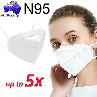 AU39.99 • Buy N95 Particulate Dust Waterproof Respirator Face Mask KN95 4 Layers