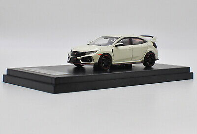 AU42.05 • Buy LCD 1/64 Scale Honda Civic Type R FK8 White Diecast Car Model Collection