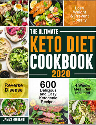 $1.99 • Buy The Ultimate Keto Diet Cookbook 2020  600 Delicious (((P.D.F)))