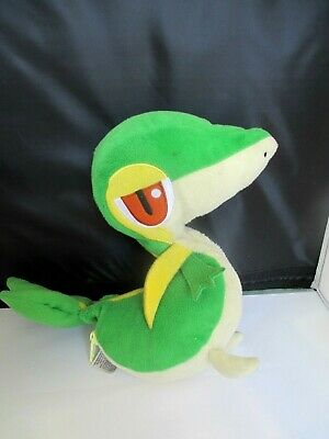 TOMY Pokemon 12  SNIVY Poke Ball Soft Toy • 20£