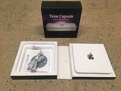 Apple Time Capsule A1254 Wireless Router Backup Wi-Fi 500GB • 14.47£