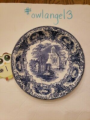$27.40 • Buy Petrus Regout Maastricht Made In Holland ABBEY Pattern Soup Bowl #1