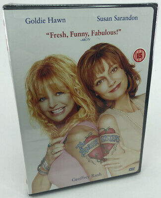The Banger Sisters - New & Sealed Region 1 DVD - Goldie Hawn/Susan Sarandon • 4.99£