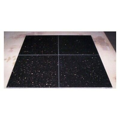Black Star Galaxy Granite Stone Floor Tiles 600x600x12mm - £45.99 Per M2 • 45.99£