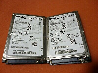 $ CDN248.47 • Buy Lot Of 16 Dell/Fujitsu 0P383F 250GB HDD 7.2K RPM LAPTOP SATA MHZ2250BK G2