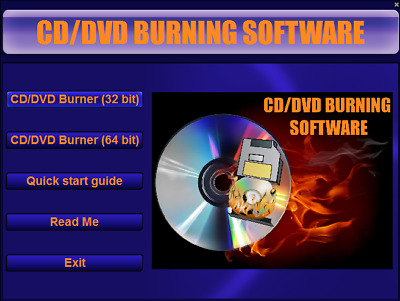 Simple Cd/ Dvd Burning Software,burn Files To Disc, Windows ( Xp,vista,7,8,8.1 ) • 1.49£