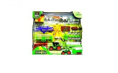 Farm Toy Park Set • 17.99£