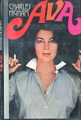 AVA: A LIFE STORY By Charles Higham 1974 First Print Hardcover AVA GARDNER BIO • 10.72£