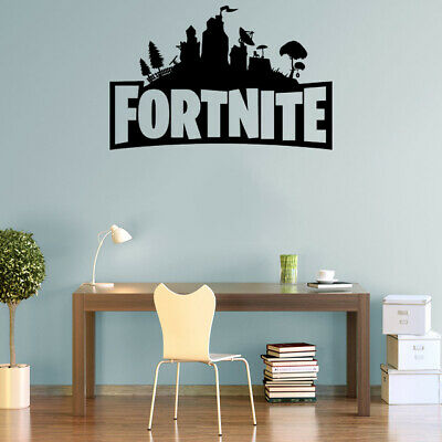 Fort Decals Nite Wall Stickers Silhouette Characters PS4 Xbox Vinyl Wall Art F4 • 5.99£