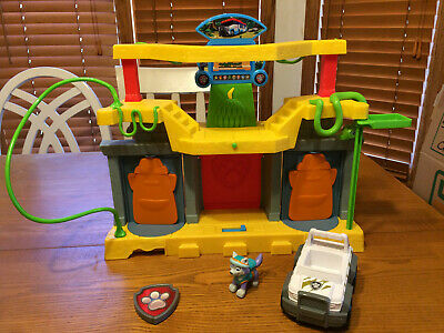$21.99 • Buy Paw Patrol Monkey Temple W/ Jungle Tracker Jeep & Dog From Everest Rescue