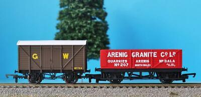 HORNBY WAGONS GWR VENT VAN + ARENIG GRANITE NORTH WALES Ex CORNISH CARRIER R1222 • 13.99£
