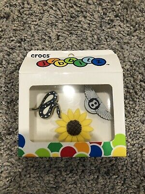 $59.99 • Buy Post Malone X Crocs Jibbitz Charms 3-Pack, Sunflower, Bentley, Snake, RARE!