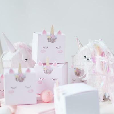 AU6.95 • Buy 6 Pack Unicorn Magical Candy Snack Box Kids' Party Favors Supplies