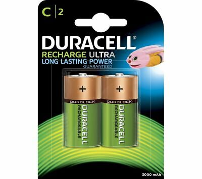 DURACELL LR14/MN1400 Accu C Rechargeable NiMH Batteries - Pack Of 2 - Currys • 9.99£