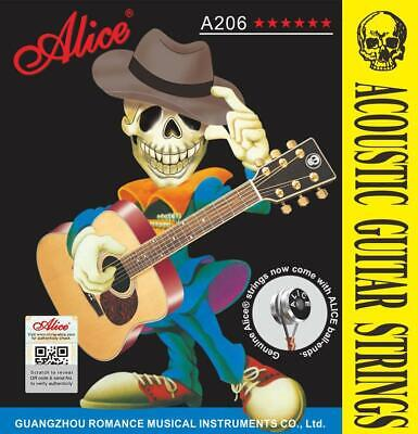 AU8.95 • Buy Acoustic Guitar Strings Steel Alice Premium Light Universal 11-52