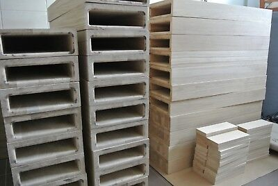 £2600 • Buy European Oak Stair Treads For Floating Staircase - Bespoke Sizes - TOP QUALITY