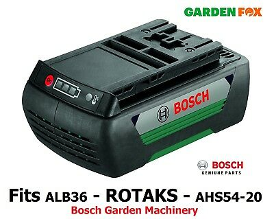 GENUINE Bosch 36V 2AH ALB36 Rotak Battery F016800474 3165140824064 O176 • 149.97£