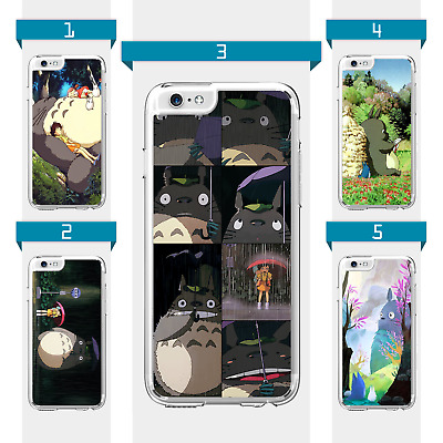 My Neighbor Totoro Studio Ghibli Anime Case For IPhone 6 7 8 XS XR SE 11 12 Pro • 6.99£