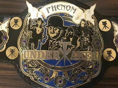 AU249.99 • Buy WWE The Phenom Undertaker Championship Belt Leather Replica 2MM Plated Adult New