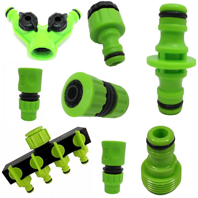 Universal Garden Watering Water Hose Pipe Tap Plastic Connector Adaptor Fitting • 4.99£