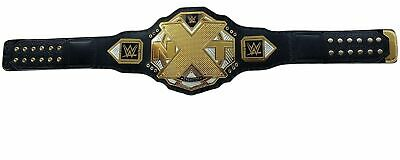 AU249.99 • Buy WWE NXT Wrestling Championship Belt Thick Metal Plated Leather Replica Adult New