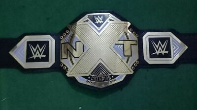 AU249.99 • Buy WWE NXT Wrestling Championship Belt Leather Thick Metal Plates Replica Adult New