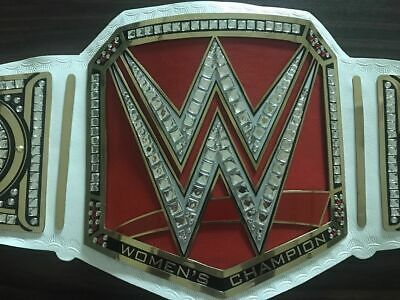AU249.99 • Buy WWE Women Championship Title Belt Real Leather Thick Metal Plates Replica Adults