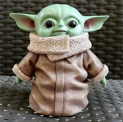 $19.60 • Buy Star Wars Baby Yoda Action Figure The Force Awakens Figure PVC Model Toy Doll