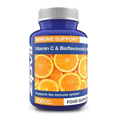 £6.99 • Buy Vitamin C 1000mg With Citrus Bioflavonoids And Rosehip Vegan Tablets, High St...