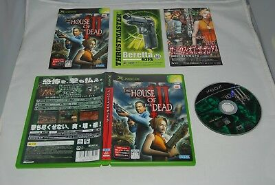 AU58.02 • Buy Microsoft XBOX The House Of The Dead 3 Japan Import JP Game NTSC-J SEGA
