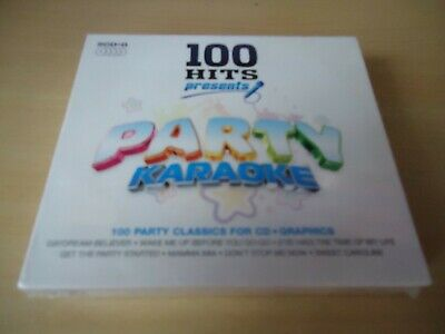 100 Hits Presents Party Karaoke - 5 CD SET - NEW SEALED - FAST P&P • 9.99£