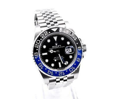 $ CDN21092.20 • Buy Rolex Stainless Steel GMT Master II Batman Watch Ref. 126710BLNR