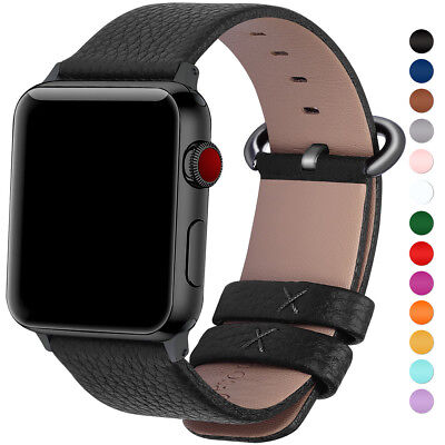 $ CDN20.29 • Buy Fullmosa Leather Strap Apple Watch Band 38mm 42mm For IWatch Series 5 4 3 2 1