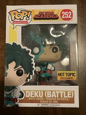 $13.99 • Buy Funko Pop New Battle Deku Hot Topic My Hero Academia Exclusive